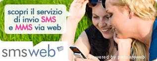 Invio sms via web